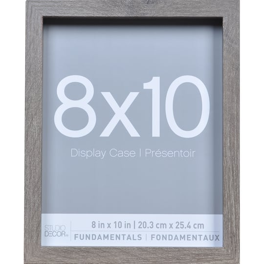 Shop For The 3 Pack Gray 8 X 10 Shadow Boxes Fundamentals By