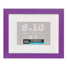 Violet Belmont Frame With Mat By Studio Décor