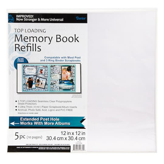Buy The Darice 12 X 12 Photo Album Refill Pages 5 Pack At Michaels
