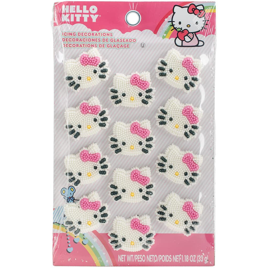 Shop for the Wilton® Hello Kitty® Icing Decorations at Michaels