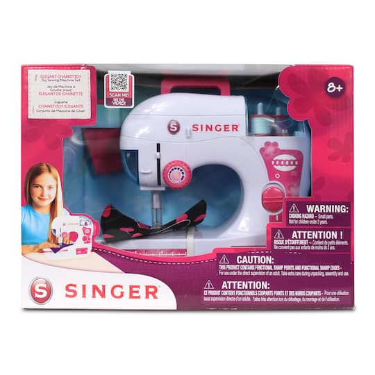 Buy The Singer EZStitch Toy Sewing Machine Set At Michaels Fascinating Singer Ez Stitch Toy Sewing Machine