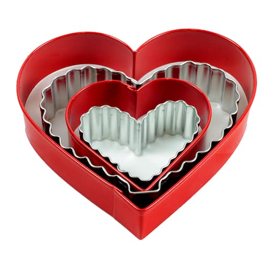 Wilton Cookie Cutter Set Hearts