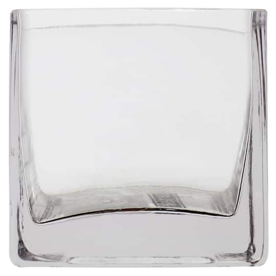 Buy The 3 Square Glass Vase By Ashland At Michaels