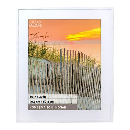 White Hampton Home Collection Frame By Studio D 233 Cor 174