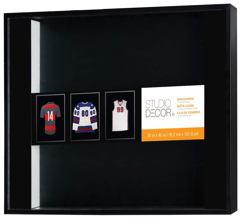Shop For The Black Large Shadow Box 30 X 40 By Studio Decor At Michaels