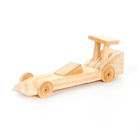 Darice® Race Car Wood Model Kit