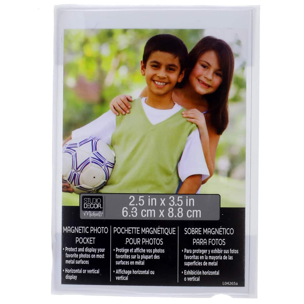 """Set of 4 Refrigerator Magnets Magnetic Picture Photo Frame 2.5/"""" for 1 1//2/"""" Photo"""
