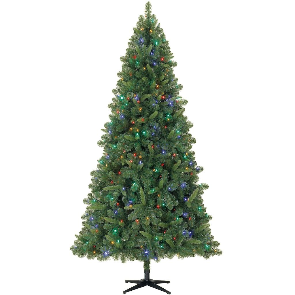 7 5ft Pre Lit Kensington Pine Artificial Christmas Tree Color Changing Led Lights By Ashland