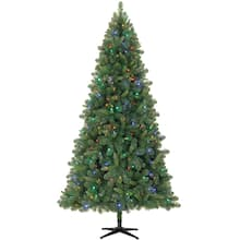 75ft pre lit full kensington pine artificial christmas tree color changing led lights by ashland - Michaels Christmas Trees Artificial