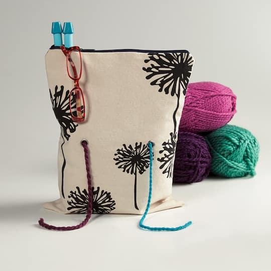Rainy Day Knitting Project Bag