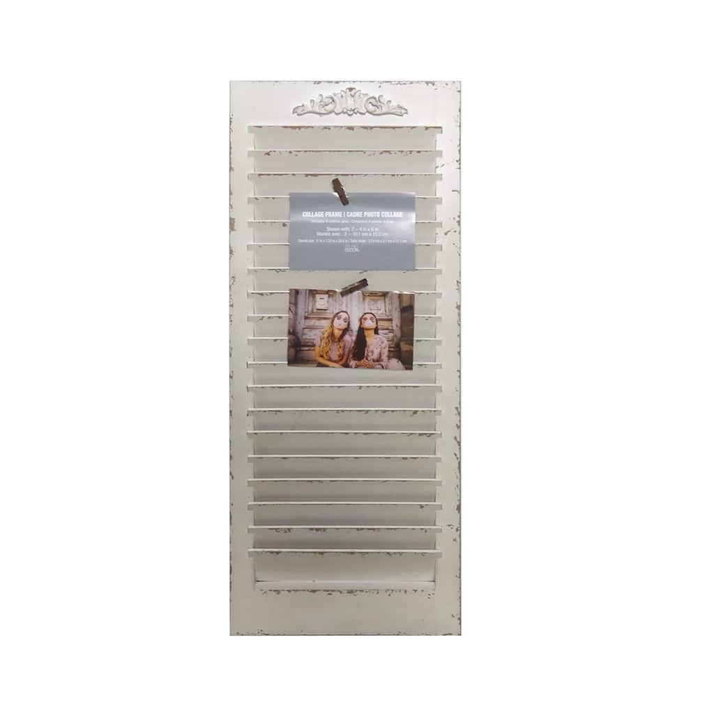 discount home decor catalogs design idea and decors.htm shop for the white window shutter frame  collage by studio d  cor  shop for the white window shutter frame