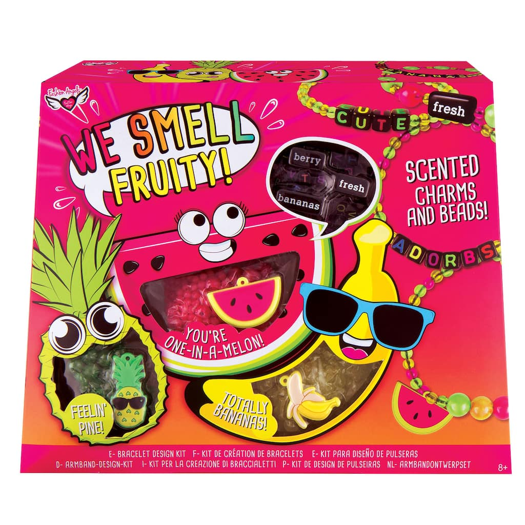 Fashion Angels We Smell Fruity Scented Bracelet Kit