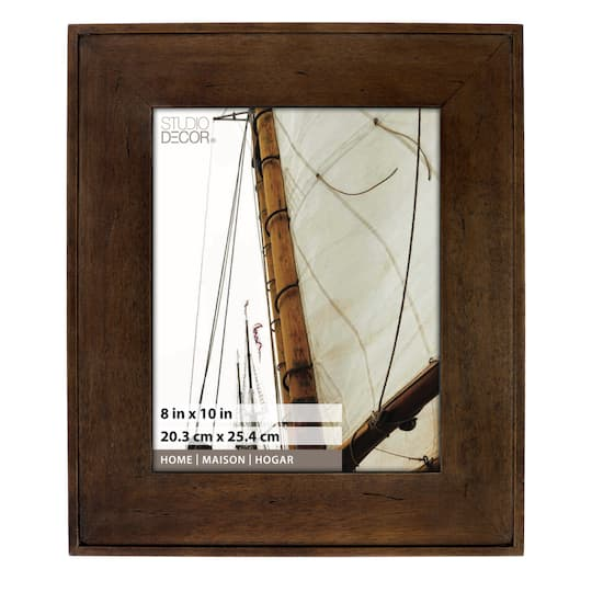 "Shop For The Espresso Hampton Frame, 8"" X 10"", Home"