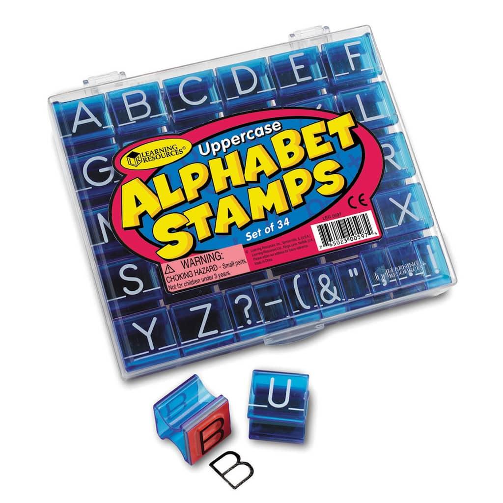 Alphabet Stamp Set Of 34 Img