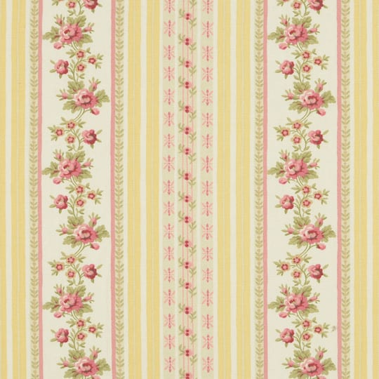 Essential Living Leah Yellow Home Décor Fabric