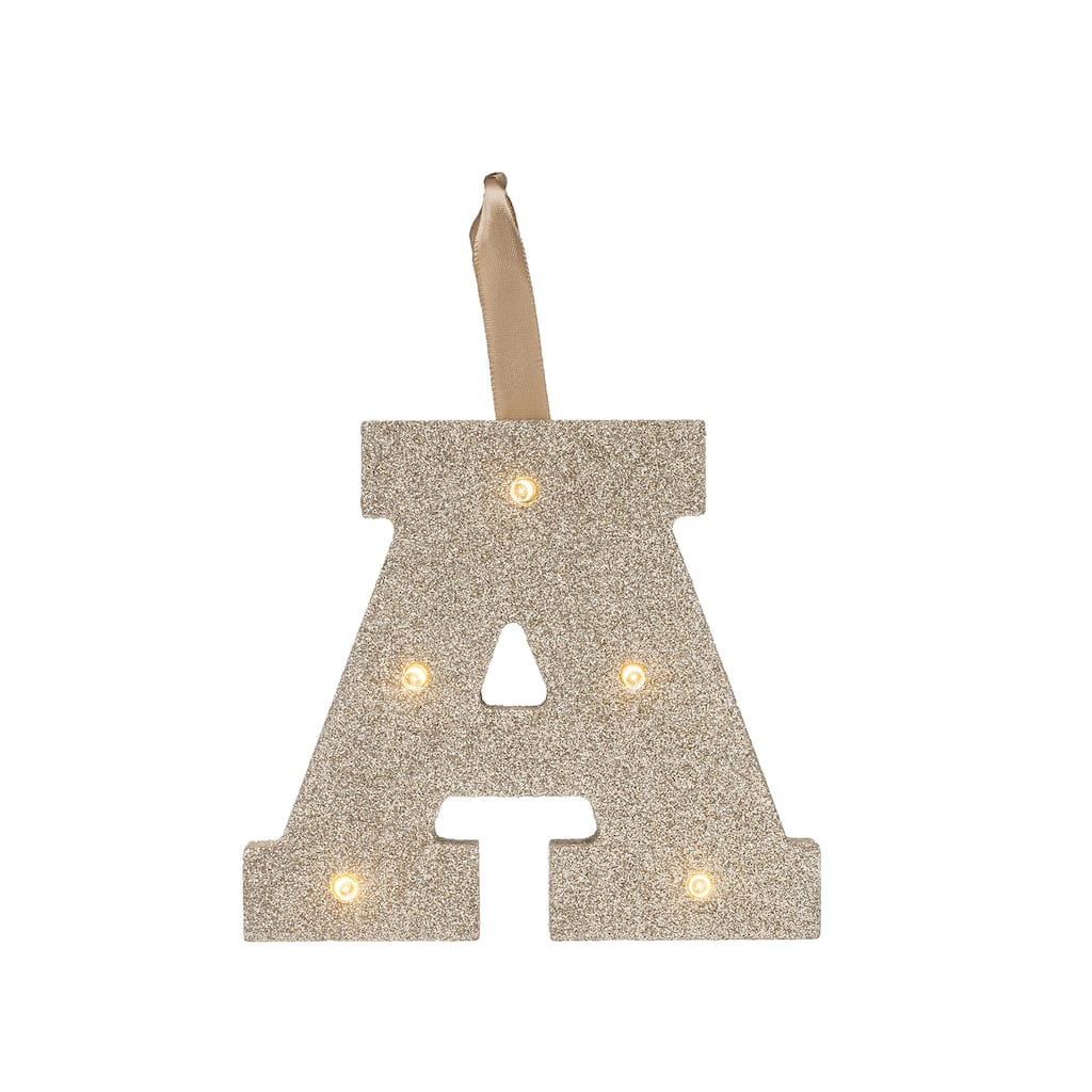 Buy The Glitter Marquee Letter By Studio Décor™ At Michaels