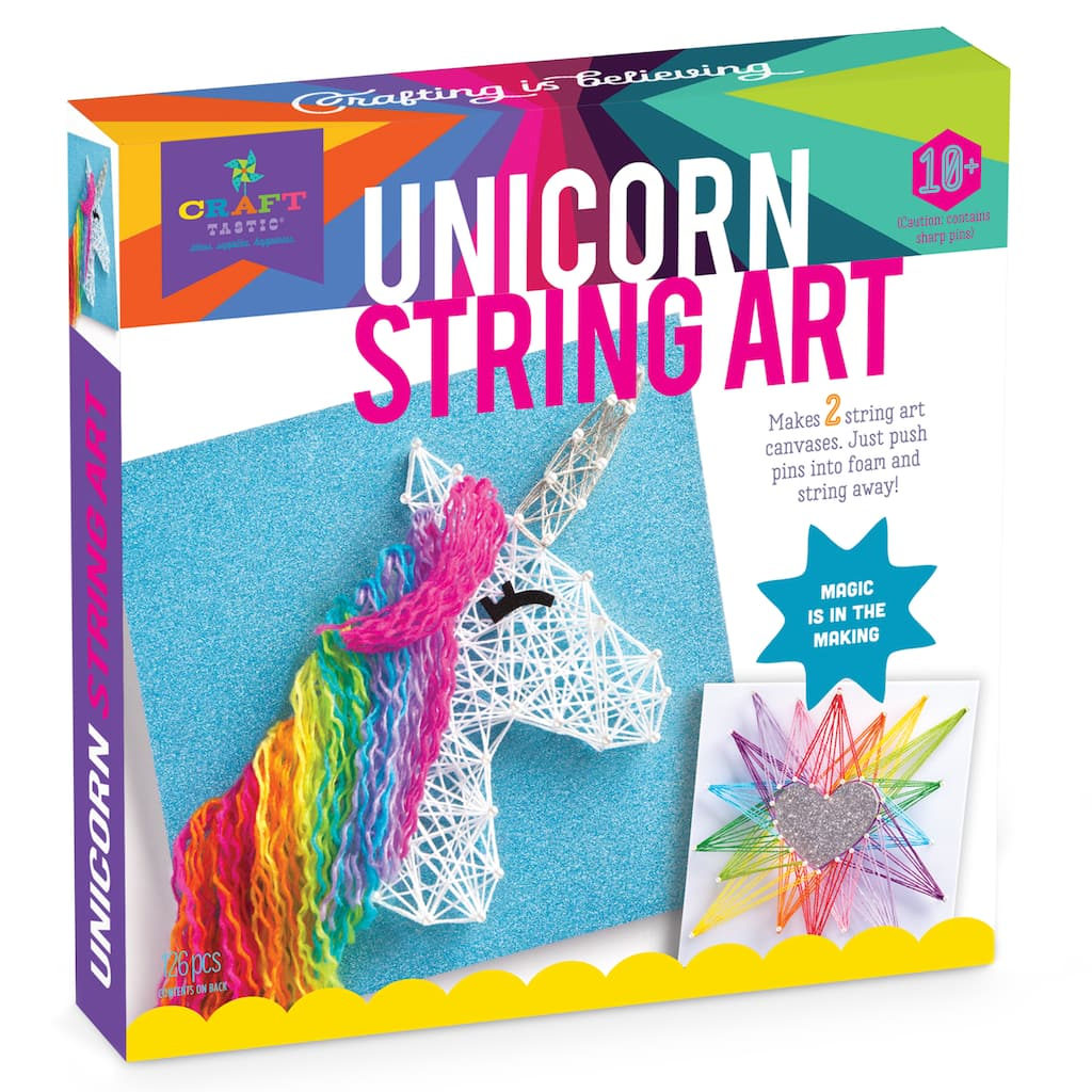 Find The Craft Tastic String Art Kit Craft Unicorn At Michaels