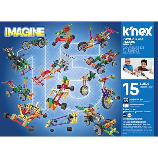 K'NEX® Imagine™ Power & Go Racers Building Set