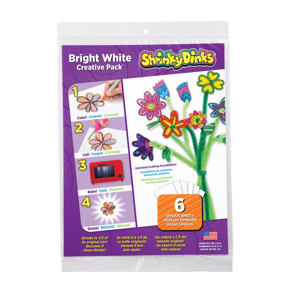 Shrinky Dinks Creative Pack Scratch Clear Plastic Card For Printed Circuit Board Custom Sale 1 2 Of Counts