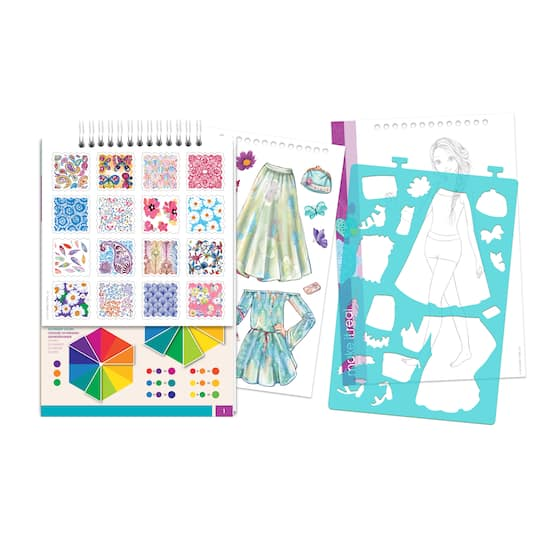 Buy The Make It Real Fashion Design Sketchbook Set Blooming Creativity At Michaels
