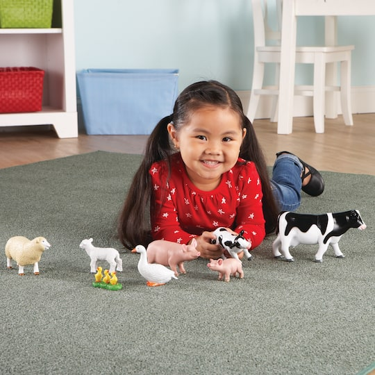 Find The Learning Resources Jumbo Farm Animals Mommas Babies At Michaels