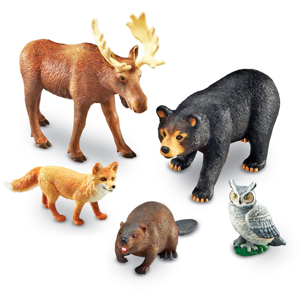 Buy the Learning Resources® Jumbo Forest Animals at Michaels
