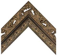 Black Acanthus Custom Frame