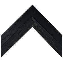 Black Wash Drift Wood Custom Frame