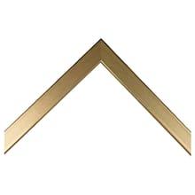 Brushed Gold Metal Custom Frame