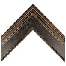 Dark Brown Bevel Panel Custom Frame