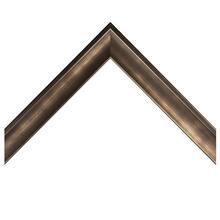 Gunmetal Foiled Shadow Box Custom Frame