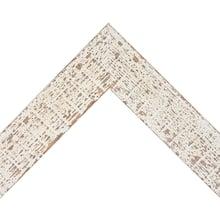 Aged White Pine Custom Frame