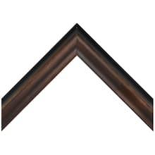 Small Foiled Bronze Custom Frame