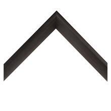 Deep Bevel Black Veneer Custom Frame