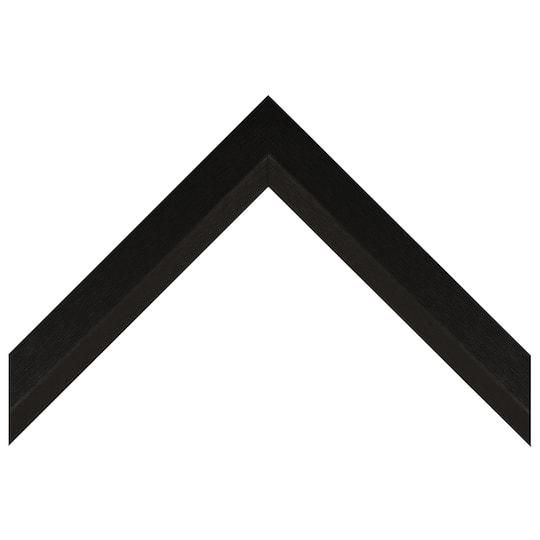 Tall Thin Black Textured Wrap Custom Frame
