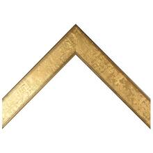 Flat Gold Nugget Custom Frame