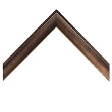 Bronze Foiled Shadow Box Custom Frame