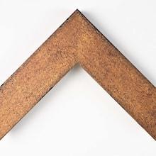 Rustique Textured Gold Custom Frame