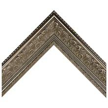 Antique Silver Ornate Scoop Custom Frame