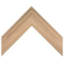 2 Step Natual Oak Custom Frame
