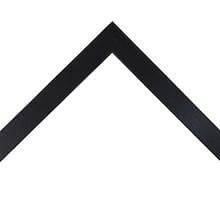 Natural Black Shadowbox Custom Frame