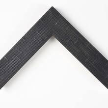 Flat Black Weave Custom Frame