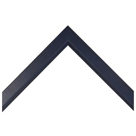 Deep Blue Narrow With Bevel Lip Custom Frame