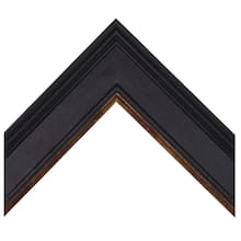 Plein Air Charcoal with Gold Lip Custom Frame