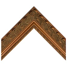 Moroccan Antique Gold Custom Frame