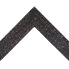 Aged Black Pine Custom Frame