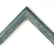 Copper Patina Custom Frame
