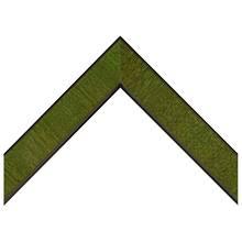Green Cross Grain Custom Frame