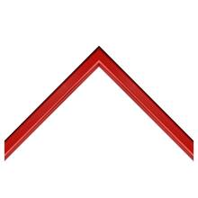 Vivid Red Custom Frame