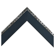 Steel Rivets With Black Leather Custom Frame